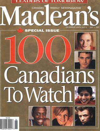 Cover for the July 1 1997 issue