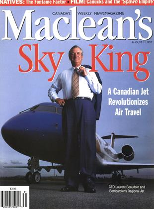 Cover for the August 11 1997 issue