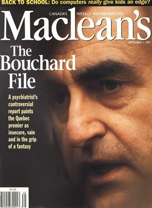 Cover for the September 1 1997 issue