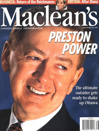 Cover for the September 22 1997 issue