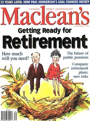 SEPTEMBER 29, 1997 | Maclean's