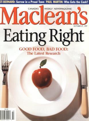 OCTOBER 27, 1997 | Maclean's