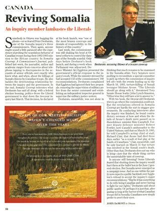 Reviving Somalia, Page: 22 - OCTOBER 27, 1997   Maclean's