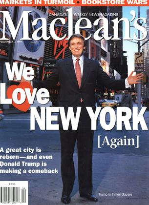 Cover for the November 3 1997 issue
