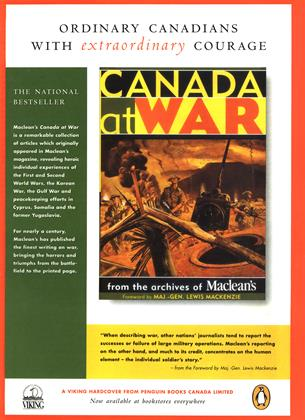 A VIKING HARDCOVER FROM PENGUIN BOOKS CANADA LIMITED, Page: 75 - NOVEMBER 3, 1997 | Maclean's