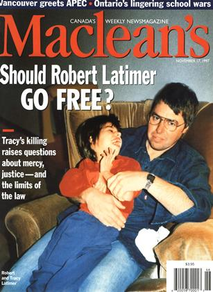 Cover for the November 17 1997 issue
