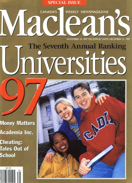 Issue: - November 1997 | Maclean's