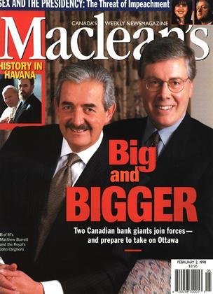 FEBRUARY 2, 1998 | Maclean's