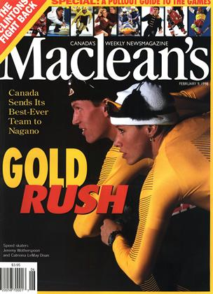 Cover for the February 9 1998 issue