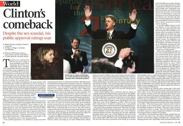 Clinton's comeback