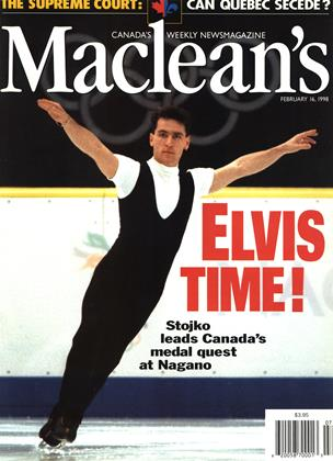 Cover for the February 16 1998 issue