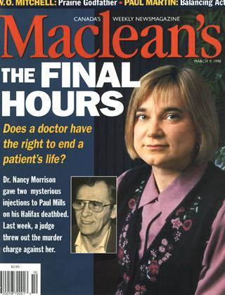MARCH 9, 1998 | Maclean's