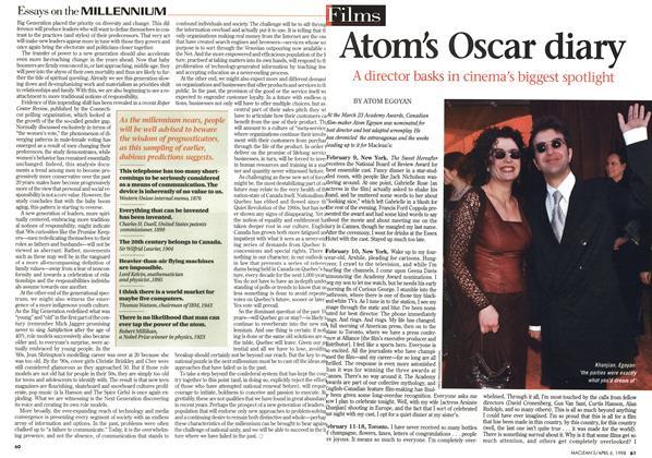 Atom's Oscar diary