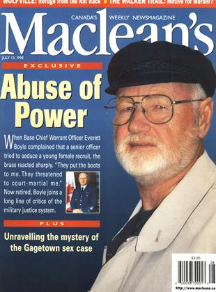 Cover for the July 13 1998 issue