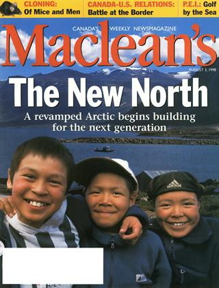 Cover for the August 3 1998 issue