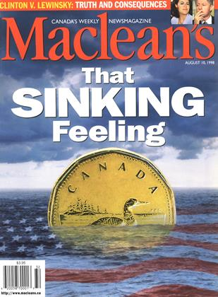 Cover for the August 10 1998 issue