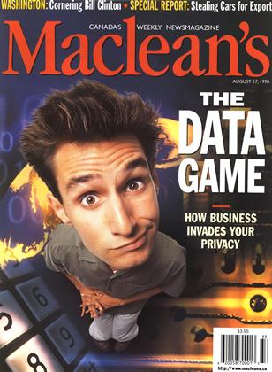 Cover for the August 17 1998 issue