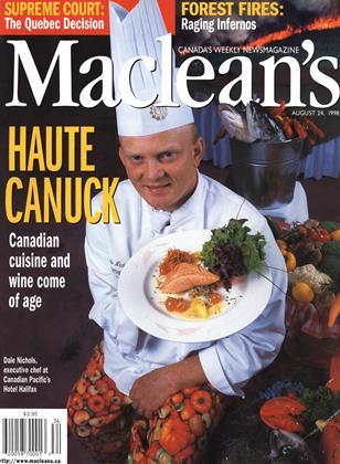 AUGUST 24, 1998 | Maclean's