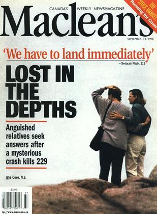 SEPTEMBER 14, 1998 | Maclean's