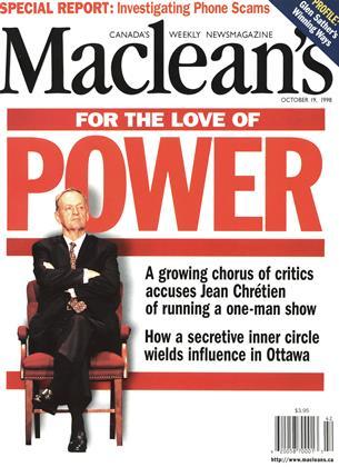 OCTOBER 19, 1998 | Maclean's