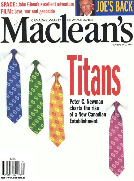 Issue: - November 1998 | Maclean's
