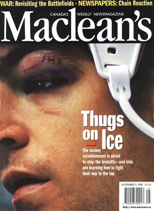 Cover for the November 9 1998 issue