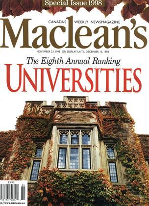 NOVEMBER 23, 1998 | Maclean's