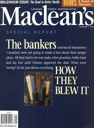 DECEMBER 7, 1998 | Maclean's