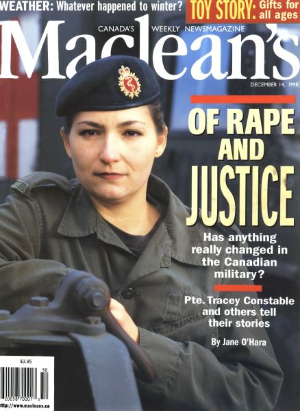 Issue: - DECEMBER 14 1998 | Maclean's