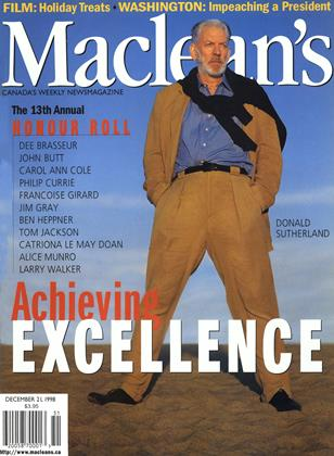 Cover for the December 21 1998 issue