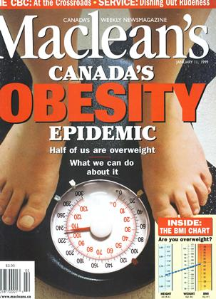 Cover for the January 11 1999 issue