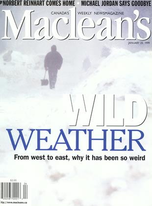 Cover for the January 25 1999 issue