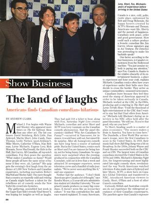 The land of laughs, Page: 66 - FEBRUARY 1, 1999 | Maclean's