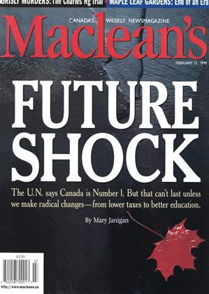 Cover for the February 15 1999 issue