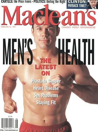 Cover for the February 22 1999 issue