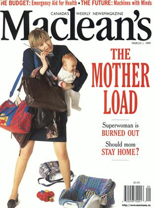 Cover for the March 1 1999 issue