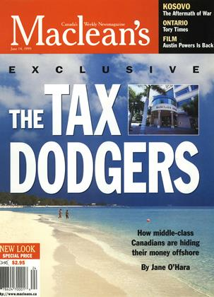 Cover for the June 14 1999 issue