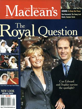 Cover for the June 21 1999 issue