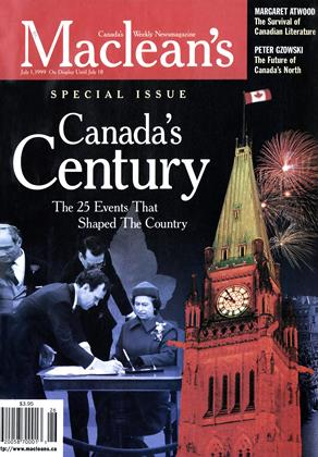 Cover for the July 1 1999 issue