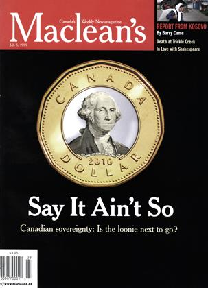 Cover for the July 5 1999 issue