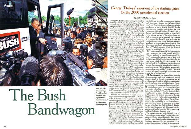 The Bush Bandwagon
