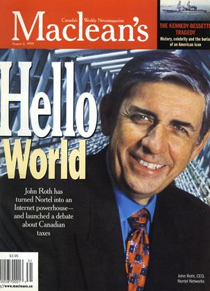 Cover for the August 2 1999 issue