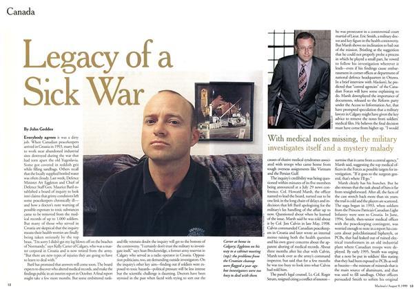 Legacy of a Sick War