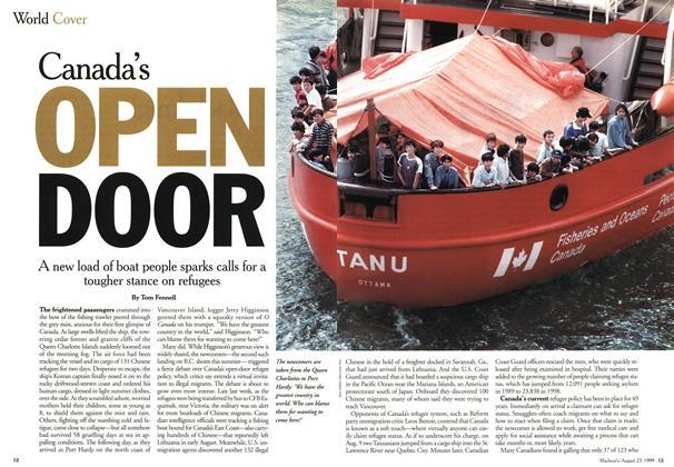 Canada's OPEN DOOR