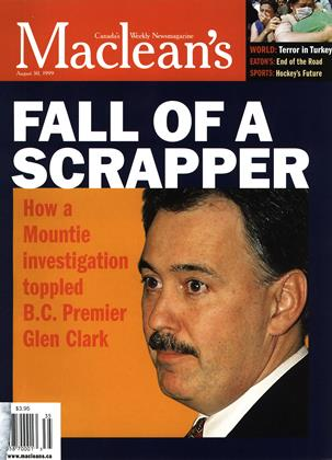 Cover for the August 30 1999 issue