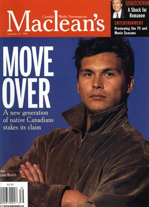Cover for the September 27 1999 issue