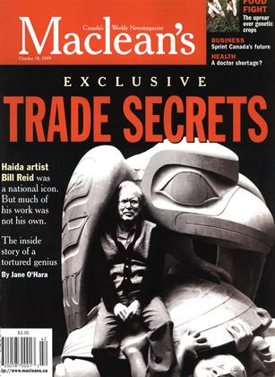 Cover for the October 18 1999 issue