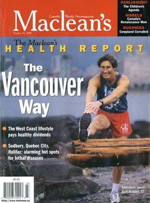 Cover for the October 25 1999 issue