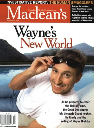 Cover for the November 22 1999 issue