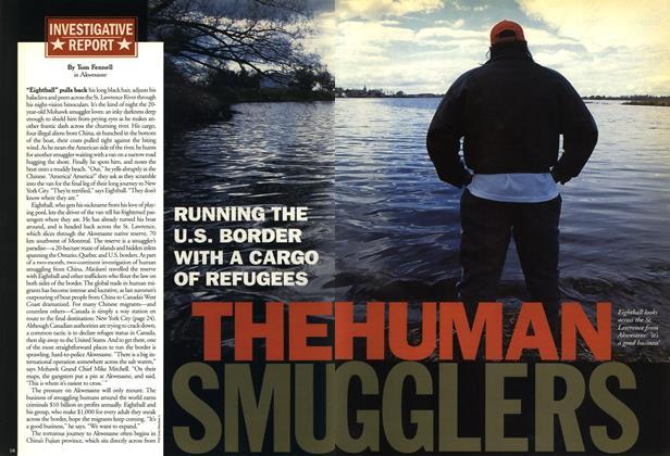 THE HUMAN SMUGGLERS